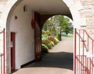 Entrance to Palace Stables Yard